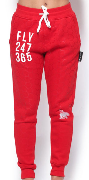 KIDS FLY 24/7 365 Joggers (Red)