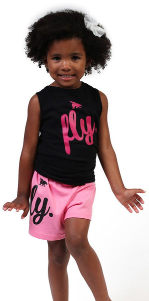 FLY. Kids Tank: BLACK