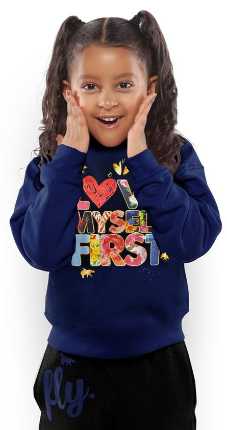 *LIMITED* LOVE MYSELF FIRST Kids Crewneck