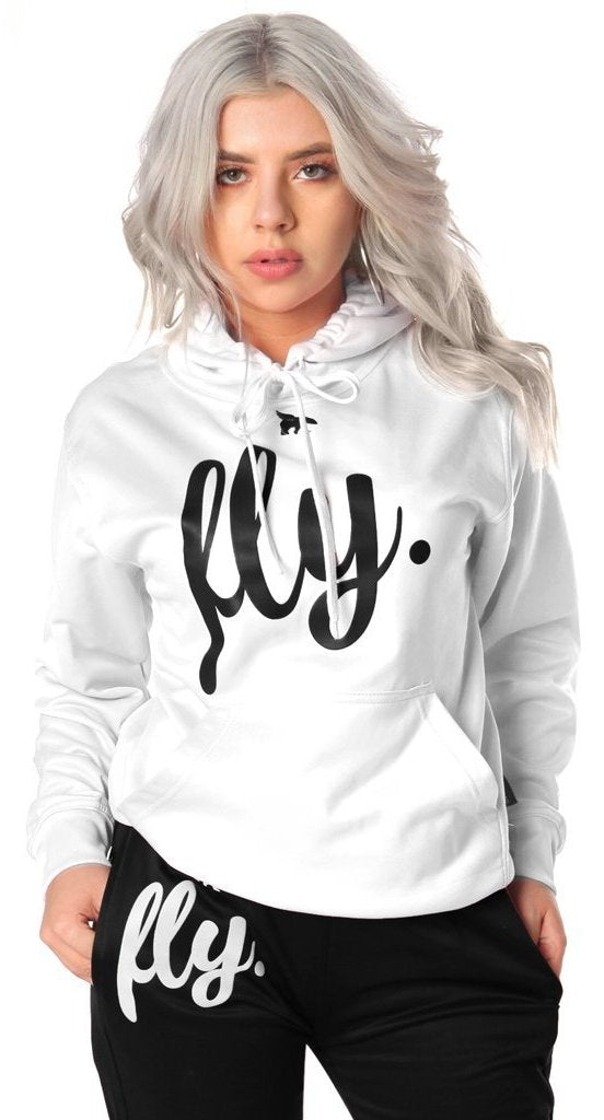 Lifestyle Comfort Hoodie: Perfect White