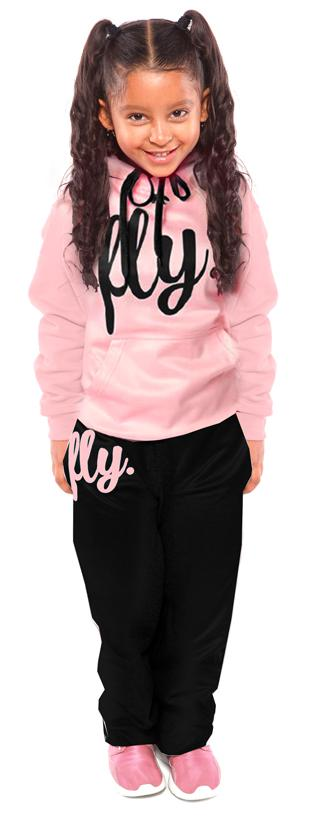 Kids Lifestyle REMIX OUTFIT: Cotton Candy/Black