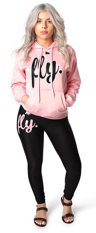 Lifestyle Legging OUTFIT: Cotton Candy/Black
