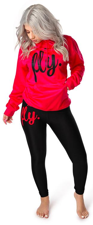 ***PRE-ORDER*** Lifestyle Legging OUTFIT: Very Pink/Black