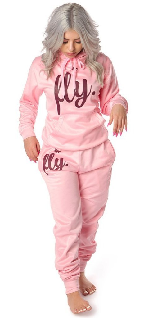 ***PRE-ORDER*** <br> Lifestyle Comfort Hoodie OUTFIT: ALL Cotton Candy Pink