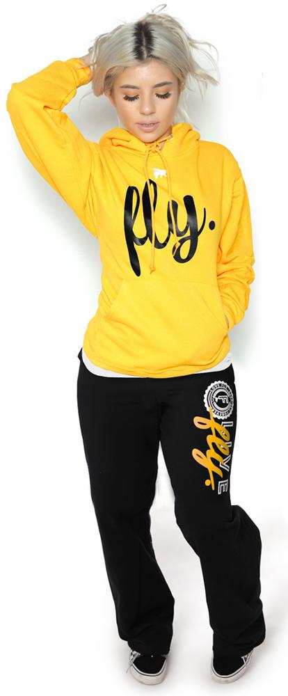 Collegiate Live Fly Comfort Outfit: Gold/Black