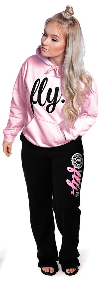 Collegiate Live Fly Comfort Outfit: Light Pink/Black