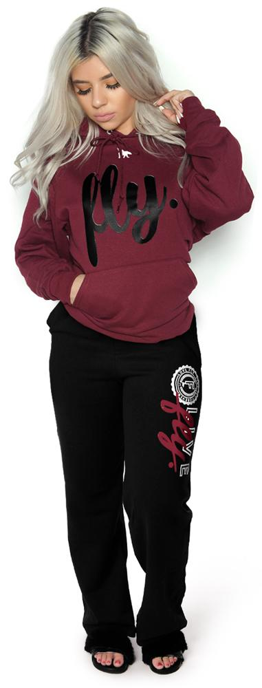 Collegiate Live Fly Comfort Outfit: Maroon/Black