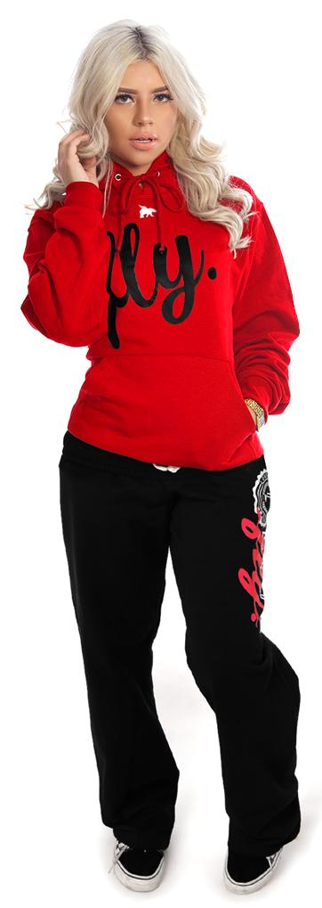 Collegiate Live Fly Comfort Outfit: Red/Black