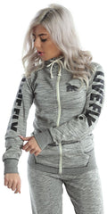 LIVE FLY. ALL DAY Sports Hooded Zip-Up Jacket