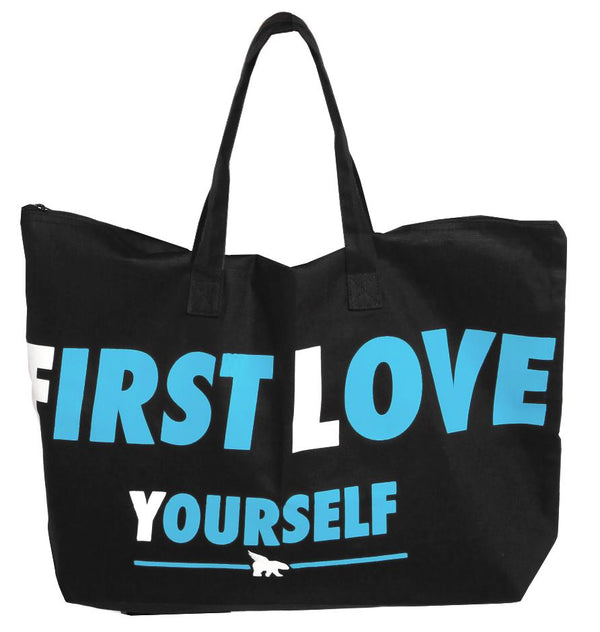 FREE FIRST LOVE YOURSELF Hangbag: Black/Cali Blue Combo (with $100 spend)