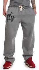 Mens Lounging Pants: Grey