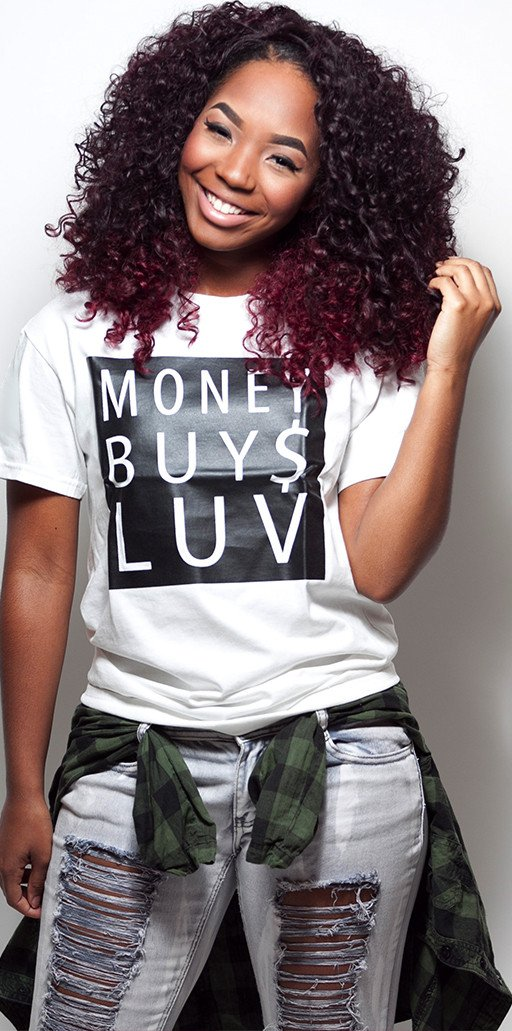 MONEY BUY$ LUV tee