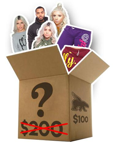 ADULT $100 ULTIMATE CLEARANCE MYSTERY BOX: $200 worth of HOODIES & SWEATPANTS