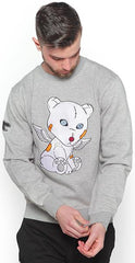 PROBLEM BEAR FULLY STITCH CREW-NECK