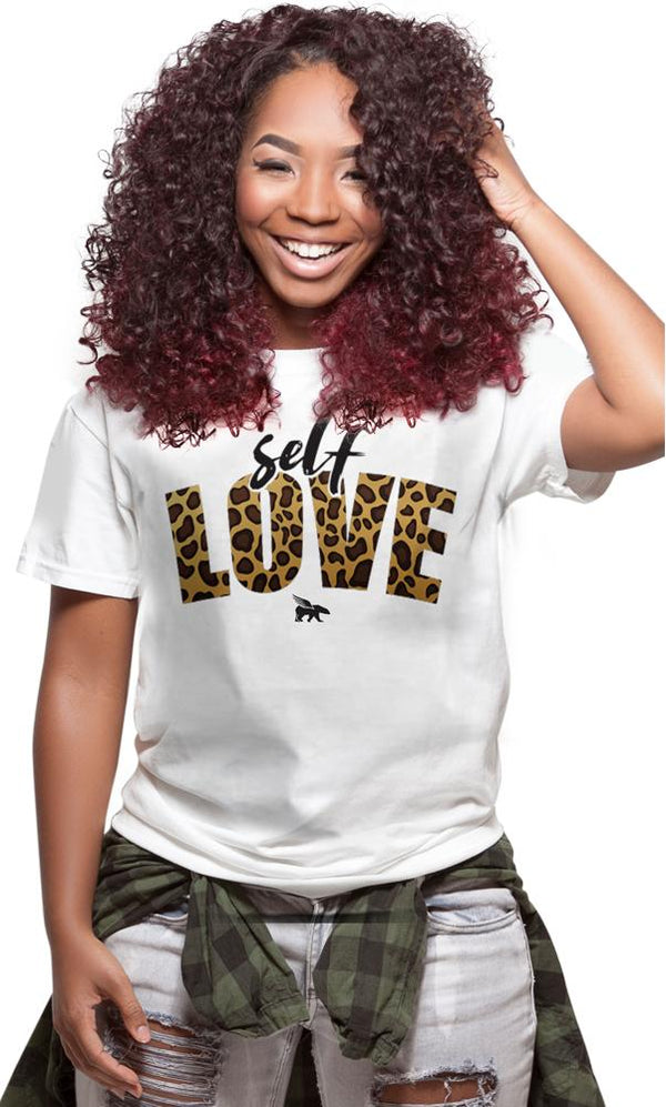Self-Love Leopard Tee