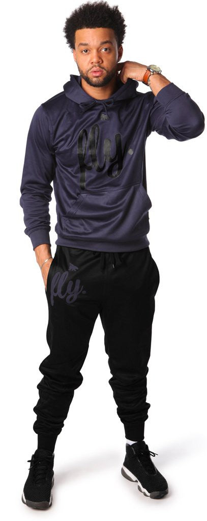 Lifestyle Comfort Hoodie OUTFIT: Navy/Black