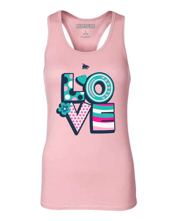 Expression Tanktops: Celebrate LOVE