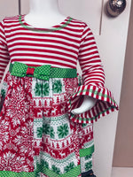The Quilted Classic Christmas Dress