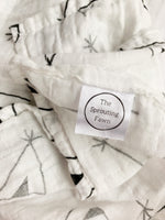 The Teepee Muslin Swaddle Blanket