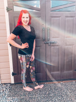 The Kathleen Leggings: Mama One Size