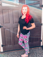 The Brooke Leggings: Mama one Size