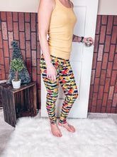 Load image into Gallery viewer, The Brynn Fruit Leggings: Mama One Size