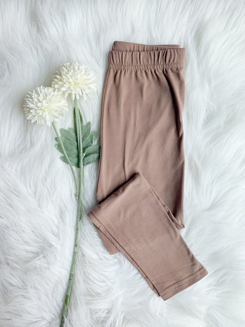 The Sabrina Leggings: Mocha