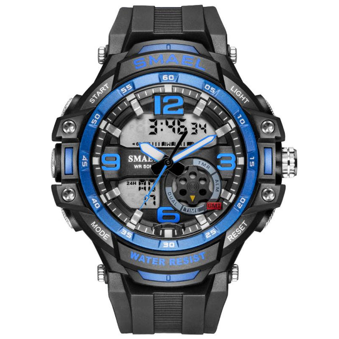 Small Watches Fashion Sports Multi-function Electronic Watch Lovers Popular Men' Waterproof