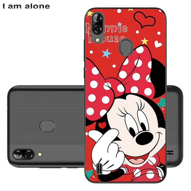 Phone Cases For Blackview A60 Pro/A60 Soft TPU Bags Mobile Cartoon Printed For Blackview A60 Pro/A60 Cover Free Shipping