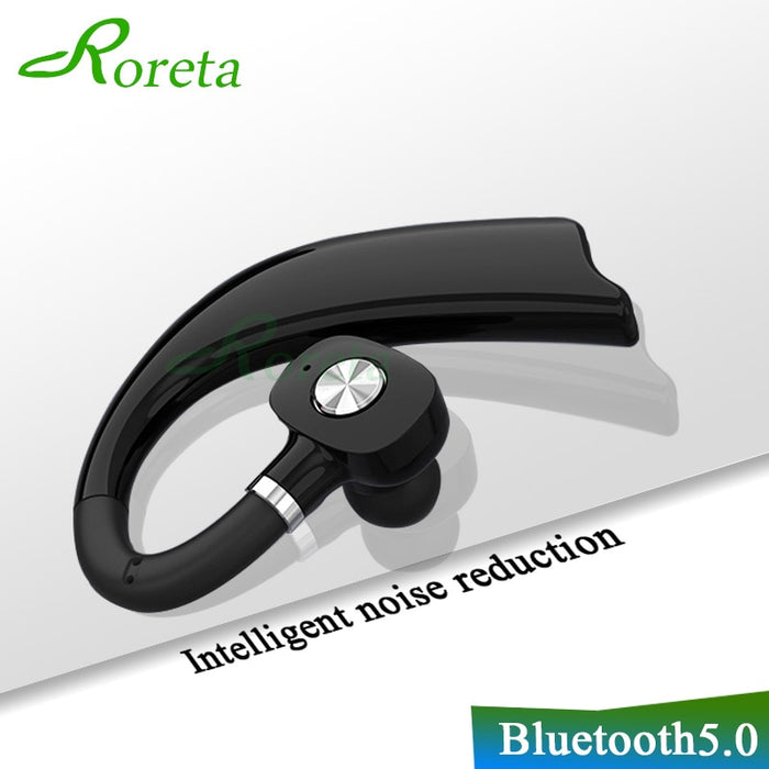 Roreta 3D Stereo Wireless Bluetooth Earphone Business Handsfree call Headset with Microphone Earbuds Earphones for iPhone huawei