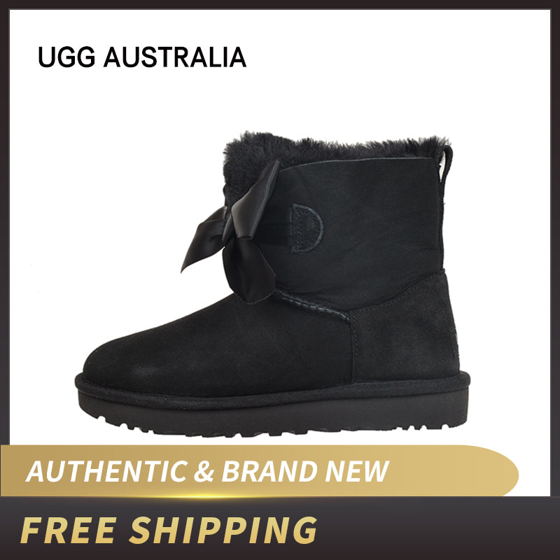UGG Australia W Gita Bow Mini Seal 1098360 Women's  Boot - Ohboyee's market place