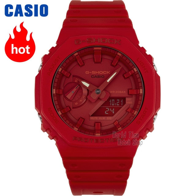Casio Watch men g shock Ultra-thin Clock top luxury set Sport quartz men watch 200m Waterproof watchs LED relogio digital Watch