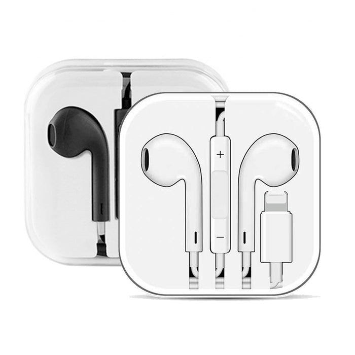 Konsmart Wired In-earpods Earphones Headset for iPhone 5 6S 7 8 Plus XR XS Max 11 Pro iPod Nano iPad Air Mini 3.5mm plug Earbuds