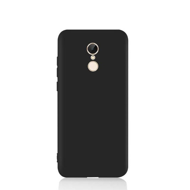 Luxury Matte Soft Silicone Case For Xiaomi Redmi Note 4X Case Cover For Xiaomi Redmi Note 4X Note4 4 Global Version Phone Case