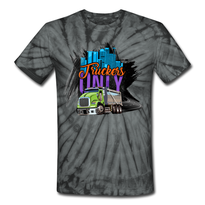 Truckers Only Tie Dye T-Shirt - Ohboyee's market place