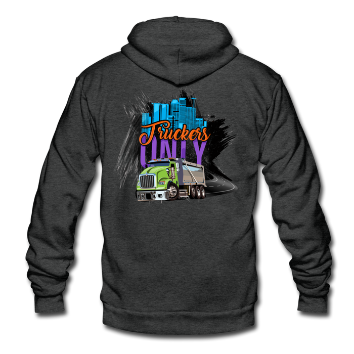 Truckers Only Fleece Zip Hoodie - Ohboyee's market place