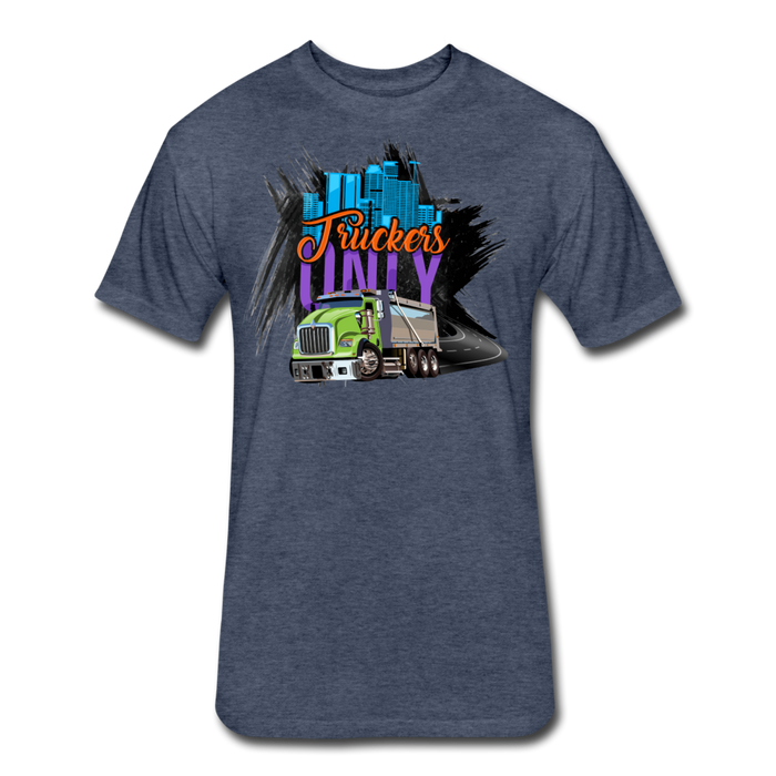 Truckers Only Fitted Cotton/Poly T-Shirt by Next Level - Ohboyee's market place