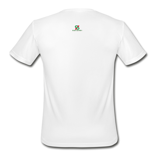 Men's Sakardi Moisture Wicking Performance T-Shirt - white