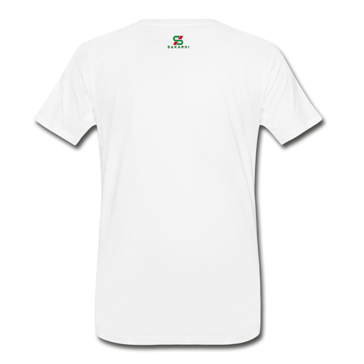 Men's Sakardi Premium T-Shirt - white