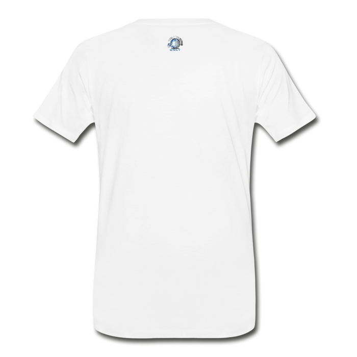Men's Truckers Only Premium T-Shirt - white