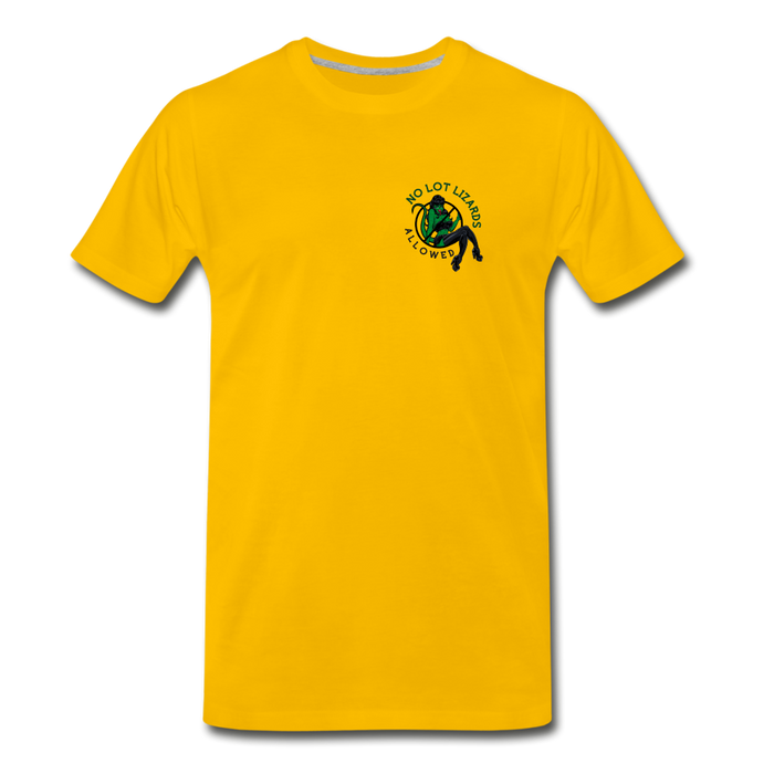 Men's Truckers Only Premium T-Shirt - sun yellow