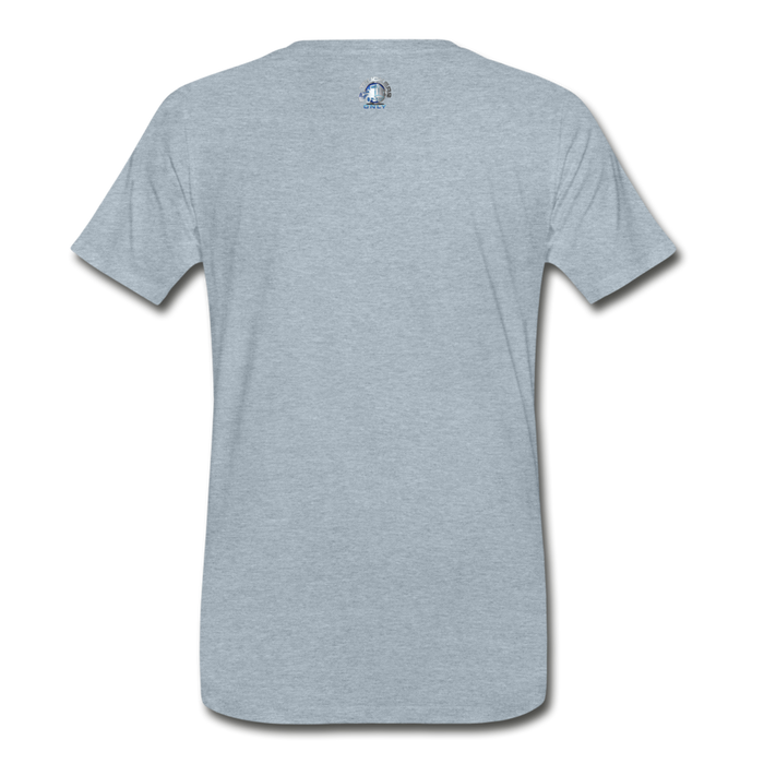 Men's Truckers Only Premium T-Shirt - heather ice blue