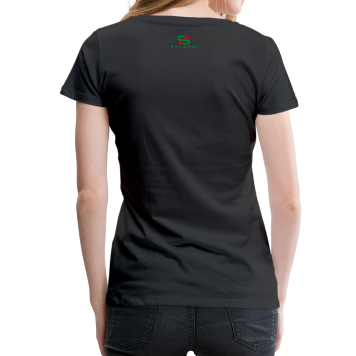 Women's Sakardi Premium T-Shirt - black