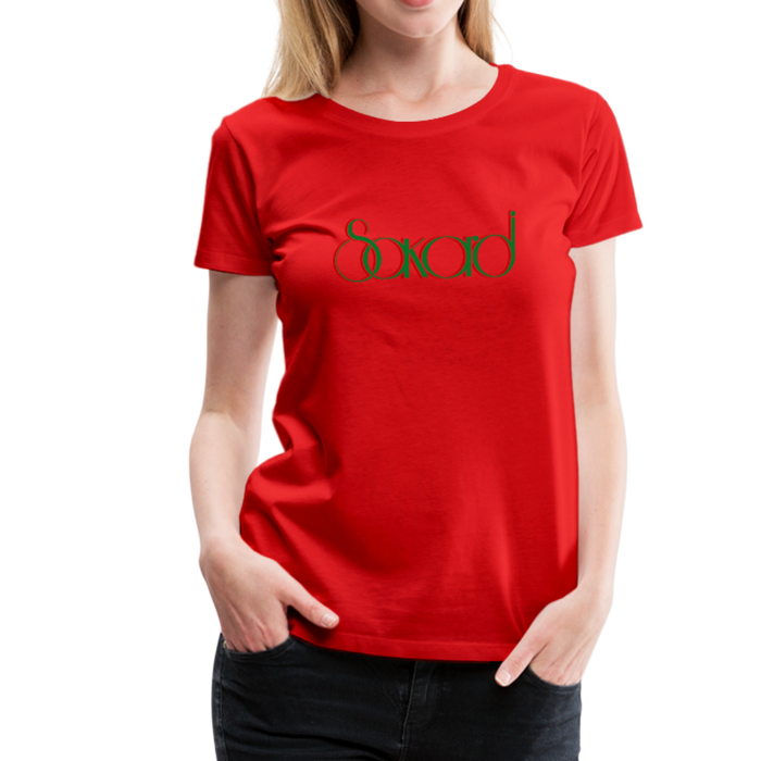 Women's Sakardi Premium T-Shirt - red