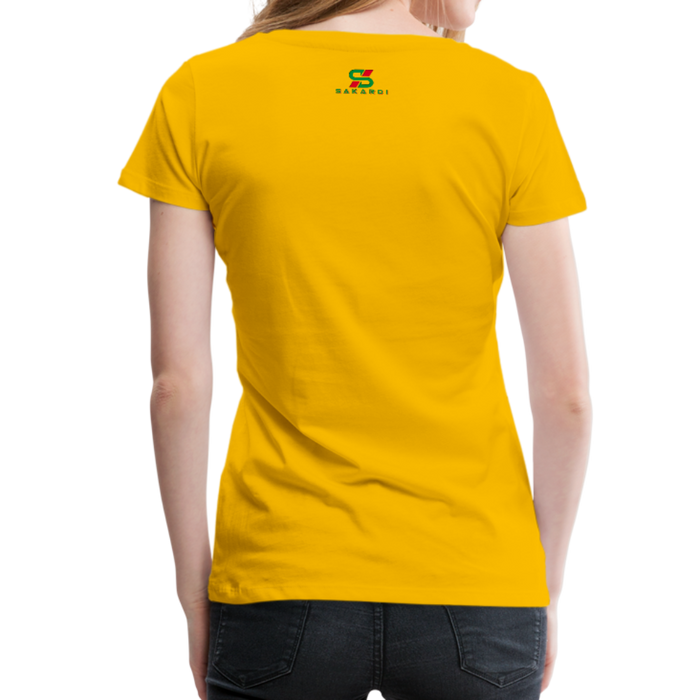 Women's Sakardi Premium T-Shirt - sun yellow