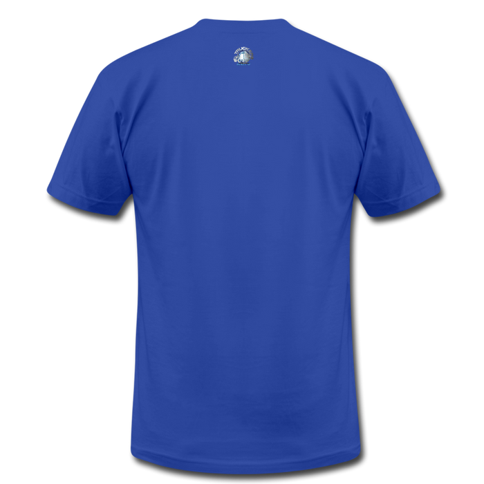 Truckers Only unisex Jersey T-Shirt by Bella - royal blue