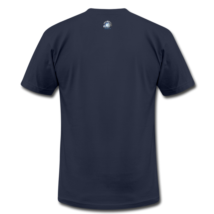 Truckers Only unisex Jersey T-Shirt by Bella - navy