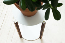 Load image into Gallery viewer, Minimal Modern Stackable Tiered Plant Stand | Wake the Tree Furniture Co.