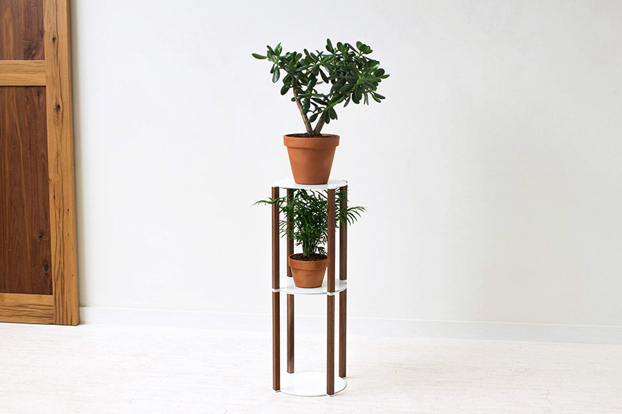 Minimal Modern Stackable Tiered Plant Stand | Wake the Tree Furniture Co.