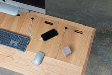 Load image into Gallery viewer, Standing Room Desk - Oak / Gray - * Ready to Ship *